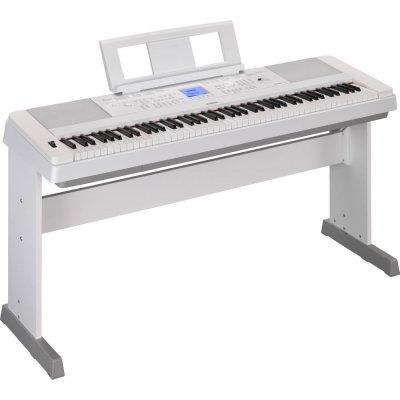 Yamaha Dgx660Wh White Pianoforte Digitale 88 Tasti