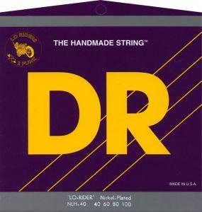 Dr Strings Nlh40 Nickel Lo-Riders Lite 40-100