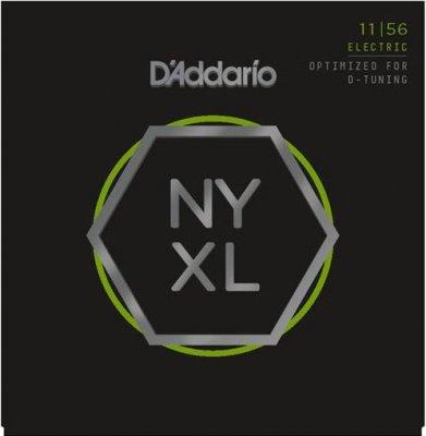D'ADDARIO NYXL1156 NICKEL MEDIUM TOP EXTRA HEAVY BOTTOM 11-56