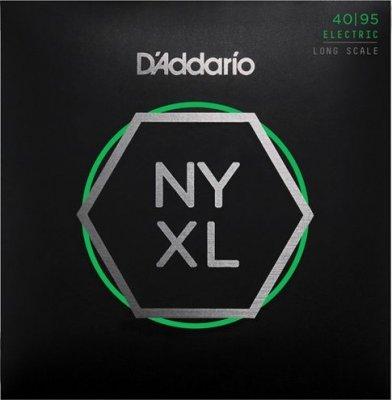 D'Addario Nyxl45095 Nickel Long Scale 40-95