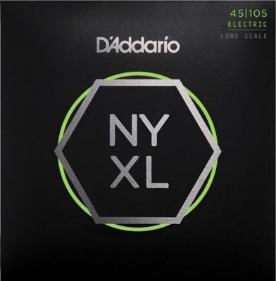 D'Addario Nyxl45105 Nickel Long 45-105