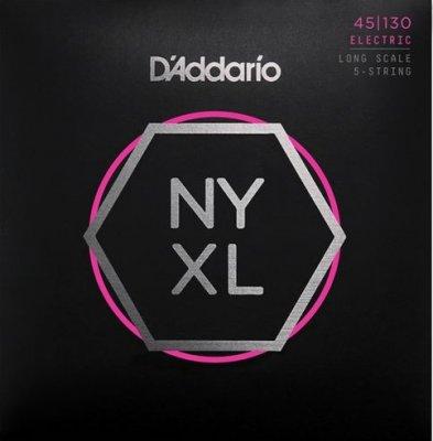 D'Addario Nyxl45130 Nickel Long 45-130