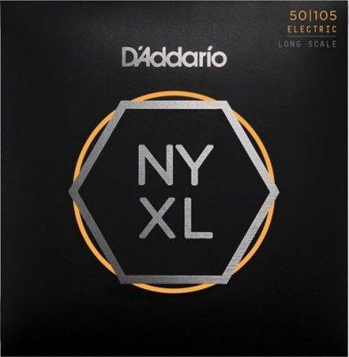 D'Addario Nyxl50105 Nickel Long 50-105