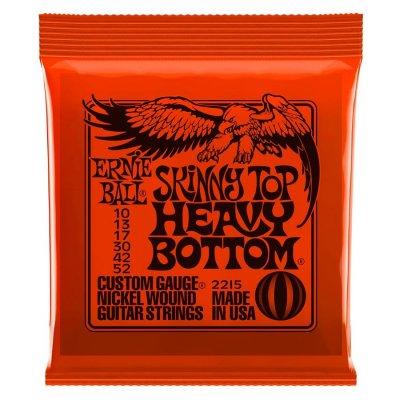 Ernie Ball 2215 Nickel Wound Skinny Top Heavy Bottom Slinky 10-52