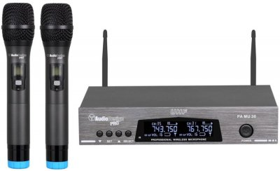 AUDIODESIGN PA MU30 SET MICROFONI WIRELESS