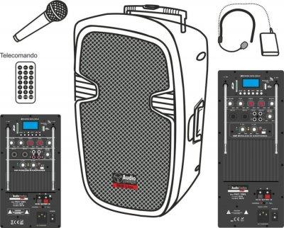Audiodesign Pax1 12Wl Sistema Pa Portatile