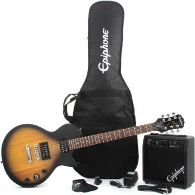EPIPHONE LES PAUL SPECIAL II PLAYER PACK VINTAGE SUNBURST
