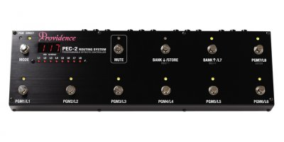 PROVIDENCE PEC2 PROGRAMMABLE CONTROLLER PEDALE EFFETTO