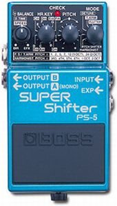 BOSS PS5 SUPER SHIFTER PEDALE EFFETTO