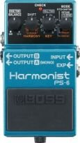 BOSS PS6 HARMONY SHIFTER PEDALE EFFETTO