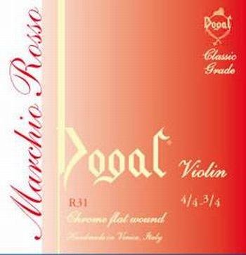 Dogal Serie Rossa Muta Violino 4/4 -3/4