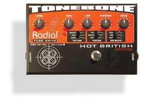 RADIAL TONEBONE HOT BRITISH PEDALE EFFETTO