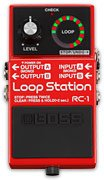 BOSS RC-1 LOOP STATION PEDALE EFFETTO