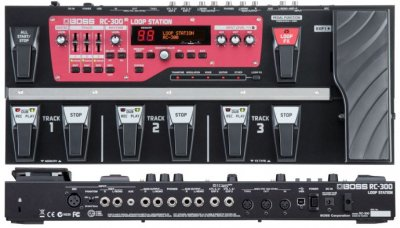 BOSS RC300 LOOP STATION PEDALE EFFETTO