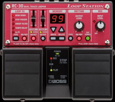 BOSS RC30 LOOP STATION PEDALE EFFETTO