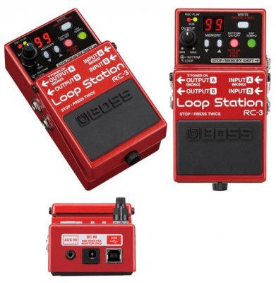 BOSS RC3 LOOP STATION PEDALE EFFETTO