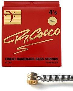 Cocco Rc4Gn Muta Corde Basso Elettrico 45-105 Nickel