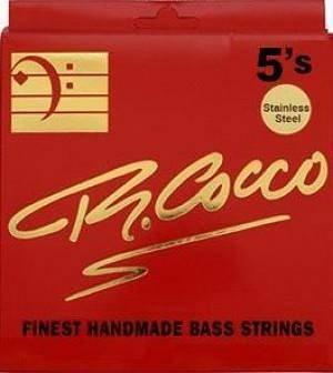 Cocco Rc5An Muta Corde Basso Elettrico 5 Corde Tapered Nickel 40-120