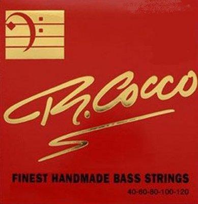 Cocco Rc5Cn Muta Corde Basso Elettrico 5 Corde 45-125 Nickel