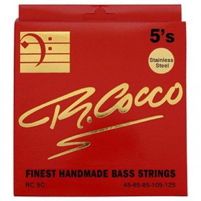 Cocco Rc5C Muta Corde Basso Elettrico 5 Corde Acciaio 45-125