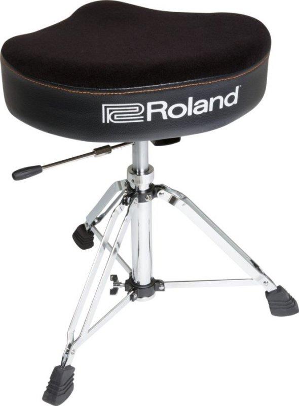Sgabello Con Schienale Per Batteria.Roland Rdtsh Saddle Drum Throne