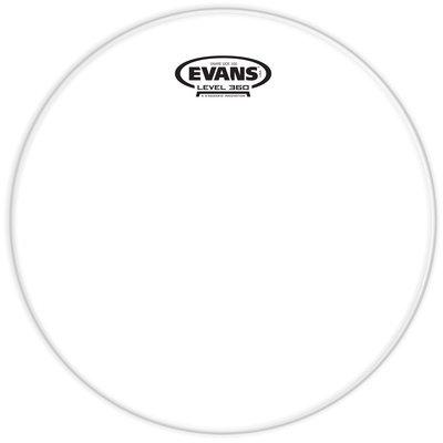 Evans S10H30 Pelle 10 Snare Side Hazy