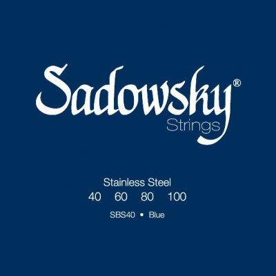SADOWSKY BLUE LABEL STAINLESS STEEL 4C 40-100