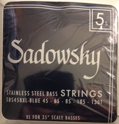 SADOWSKY BLUE LABEL STAINLESS STEEL 5C 45-130T XL 35' SCALE