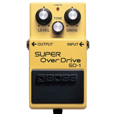 BOSS SD1 PEDALE EFFETTO  OVERDRIVE VALVE SOUND