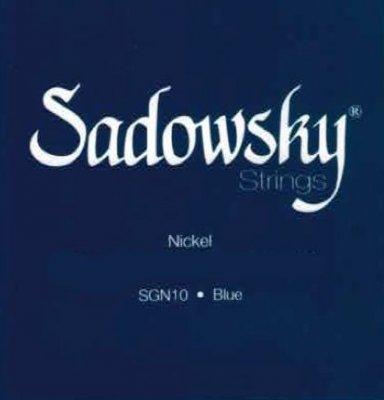 SADOWSKY GUITAR STRINGS NICKEL-PLATED STEEL 10-52
