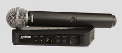 SHURE BLX24E-SM58 RADIOMICROFONO WIRELESS