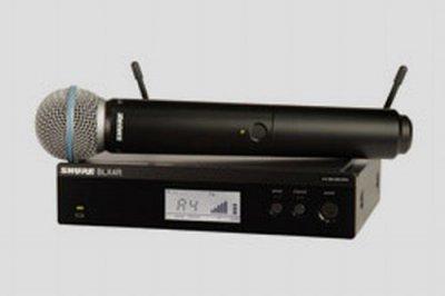 SHURE KIT RADIOMICROFONO BLX24R E BETA58