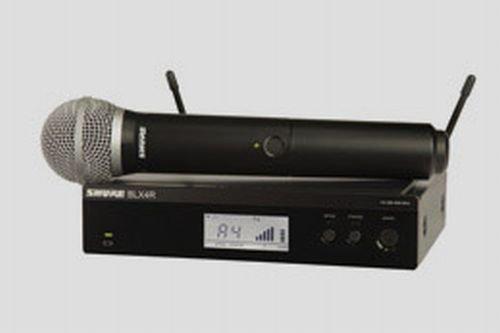 SHURE KIT RADIOMICROFONO BLX24R E PG58