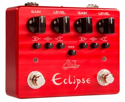 SUHR ECLIPSE DUAL CHANNEL OVERDRIVE DISTORTION