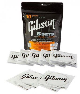 GIBSON MUTA  010-046 BRITE WIRES 5 SET