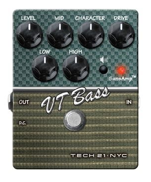 Tech21 character vt bass di