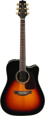 Takamine Gd71Ce-Brown Sunburst Chitarra Acustica Dreadnought