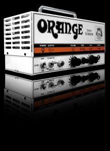 ORANGE TINY TERROR TESTATA 15 W. CLAS A