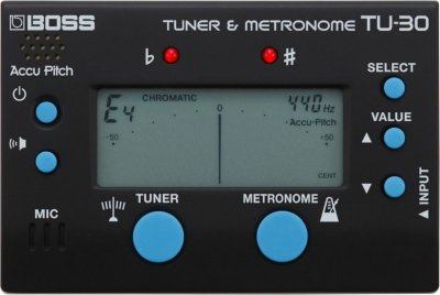 BOSS TU30 METRONOME&TUNER