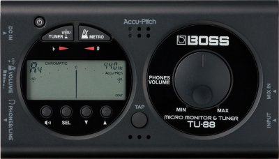 BOSS TU88BK MICRO MONITOR ACCORDATORE