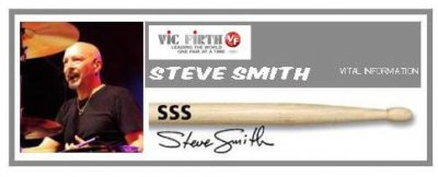 VIC FIRTH  SSS BACCHETTE STEVE SMITH