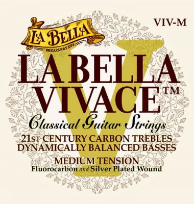 LA BELLA VIVACE MUTA PER CHITARRA CLASSICA MEDIUM TENSION