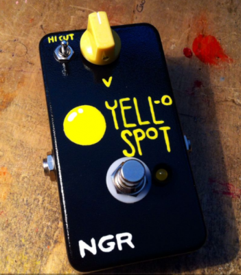 NGR PEDALE EFFETTO  BOOSTER YELL-O SPOT