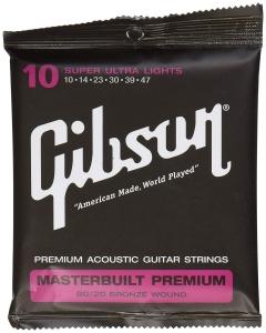 GIBSON SAG-BRS10 MASTERBUILT PREMIUM 80-20 BRONZE 10-47