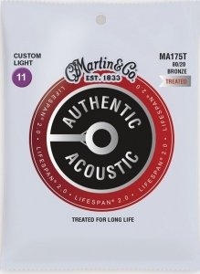 MARTIN MUTA MA175T BRONZE CUSTOM LIGHT 80/20 11-52