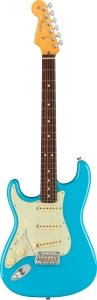 Fender American Professional Ii Stratocaster Left Hand Miami Blue Rosewood