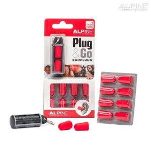 ALPINE EARPLUG PLUG&GO CON TRAVEL BOX