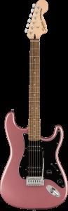 Squier Affinity Stratocaster HH Laurel Fingerboard Burgundy Mist
