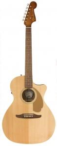 Fender Newporter Player Natural Chitarra Acustica Elettrificata