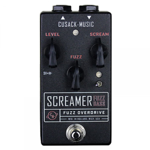 CUSACK MUSIC SCREAMER FUZZ BASS PEDALE EFFETTO